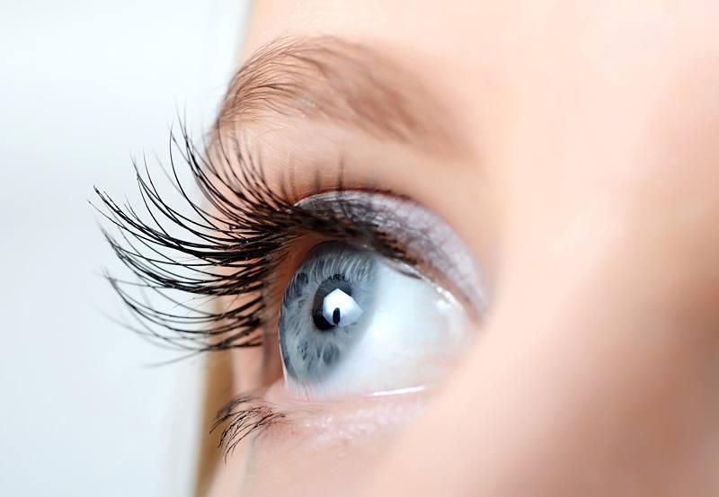 Close up of femail eye